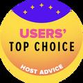 Vergeben an die Top 10 Web-Hosting-Unternehmen mit den höchsten Benutzerbewertung.