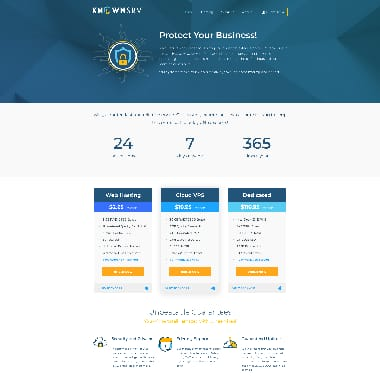 KnownSRV HomePage Screenshot